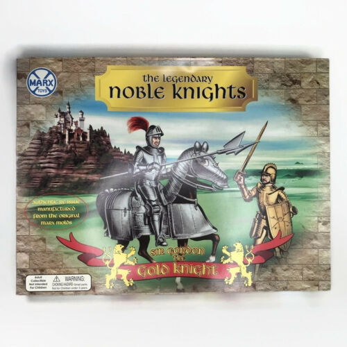 Marx Toys The Legendary Noble Knights Sir Gordon The Gold Knight Reissue 5366