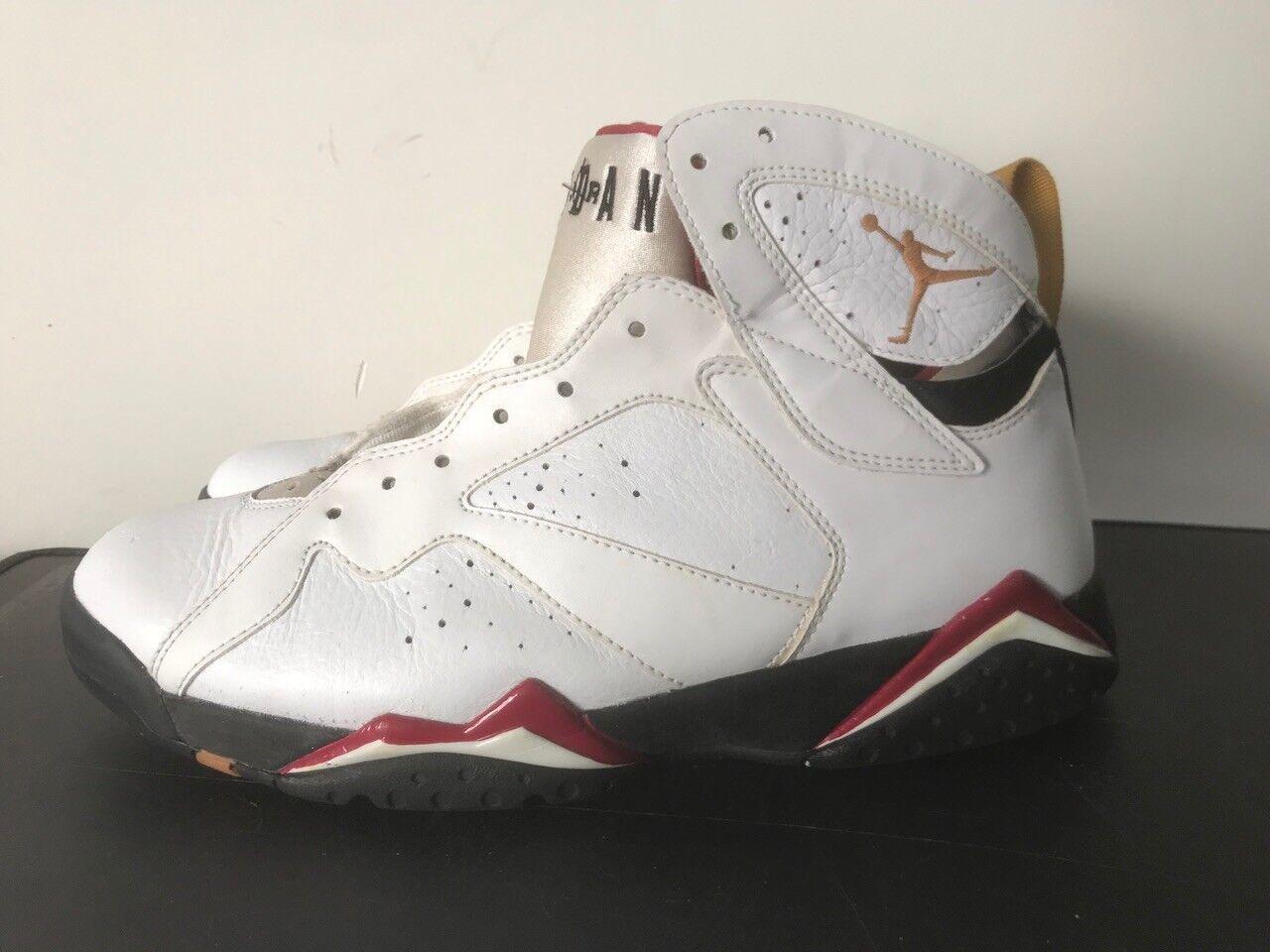 2011 Nike Air Jordan Vii Retro '7 3 Cardinalsize 10,5 Bronzo Red Raptor Og 4 1 3 '7 11 197a6b