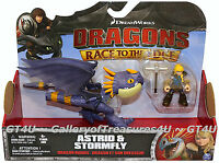 How To Train Your Dragon Riders Race To The Edge Astrid & Stormfly Purple Nadder