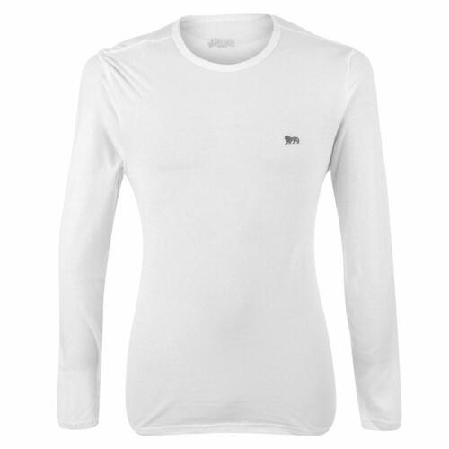 Lonsdale Mens Long Sleeve T Shirt Top Crew Neck Lightweight Training