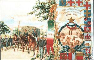 CARTOLINA-ILLUSTRATA-REGIO-ESERCITO-COMPAGNIE-SUSSISTENZA-1884-1903