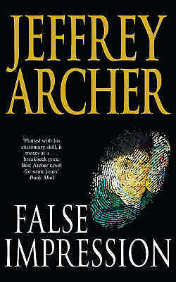 1 of 1 - False Impression, Archer, Jeffrey, New Book