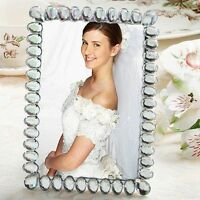 1 Bling Collection Wedding Picture Frame Rhinestone Photo Favor Gift Reception