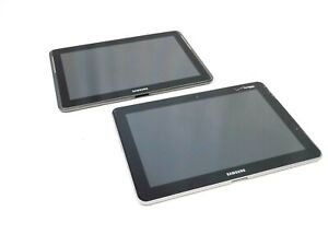 Lot-of-2-Samsung-Tablets-16GB-SCH-1905-amp-GT-P5113TS-As-Is-Untested