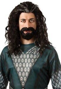 The-Hobbit-Movie-Thorin-Oakenshield-Wig-Hair-Kit-Costume-Dwarf