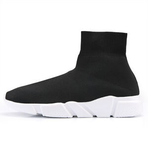 Damen-Herren-Sport-Winter-Socken-Schuhe-Sneaker-Turnschuhe-Laufschuhe-Freizeit