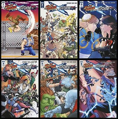 of 6 Subscription  NEW!!! Street Fighter x GI Joe #3
