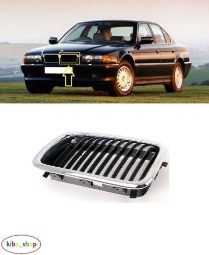 BMW 7 E38 1994-1998 Nouveau Pare-chocs avant supérieur Grille Radiateur Gauche N//S Passenger