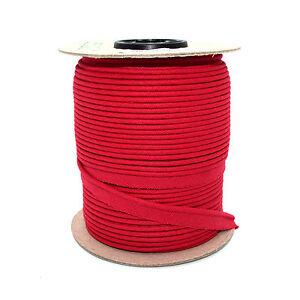 10mm En Coton Rouge Bordure Garnitures Piping Ribbon Trim Lame à Coudre Artisanat 1m C162-afficher Le Titre D'origine