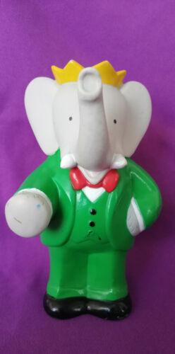 // Eléphant Figurine Pouet BABAR 1990 BRUNHOFF 15cm