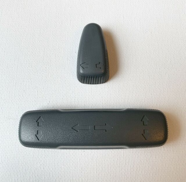 2001-2003 Acura TL Driver Seat Control Switch Covers GRAY