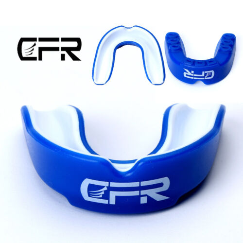 Mouth Guard Teeth Gum Shield Boxing MMA Grinding Sports Rugby Gel MouthPiece BD