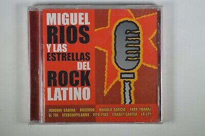 Miguel Rios Y Las Estrellas Del Rock Latino Latin Cd Sealed Ebay