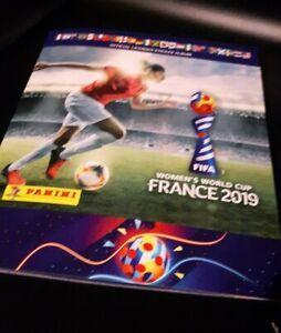 PANINI-Women-039-s-World-Cup-2019-WM-Sticker-Album