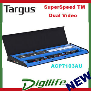 Targus-USB-3-0-SuperSpeed-TM-Dual-Video-Docking-Station-w-Power-Charge-ACP7103AU