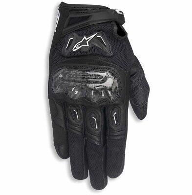 Alpinestars Womens Stella SMX-2 Air Carbon v2 Gloves MEDIUM BLACK//WHITE//PINK
