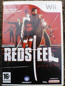 Red Steel Nintendo Wii 2006 - Ilkeston, United Kingdom - Red Steel Nintendo Wii 2006 - Ilkeston, United Kingdom