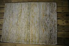 NEW 2'x3' WOOL-SILK HANDMADE HAND-KNOTTED AREA  ACCENT RUG FOYER KITCHEN BATH