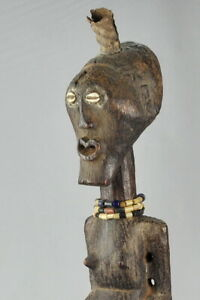 Grand-Fetiche-SONGYE-78-cm-statue-Congo-Fetish-African-Art-Tribal-Africain-1341