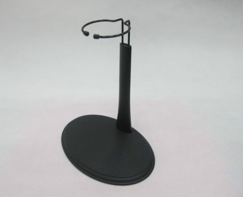 """1//6 C Type Display Stand Black Base For 12/"""" Action Figure Body Model Hot Toys"""