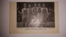 Columbia Club Manila P.I.  1909-10 Basketball Team Picture