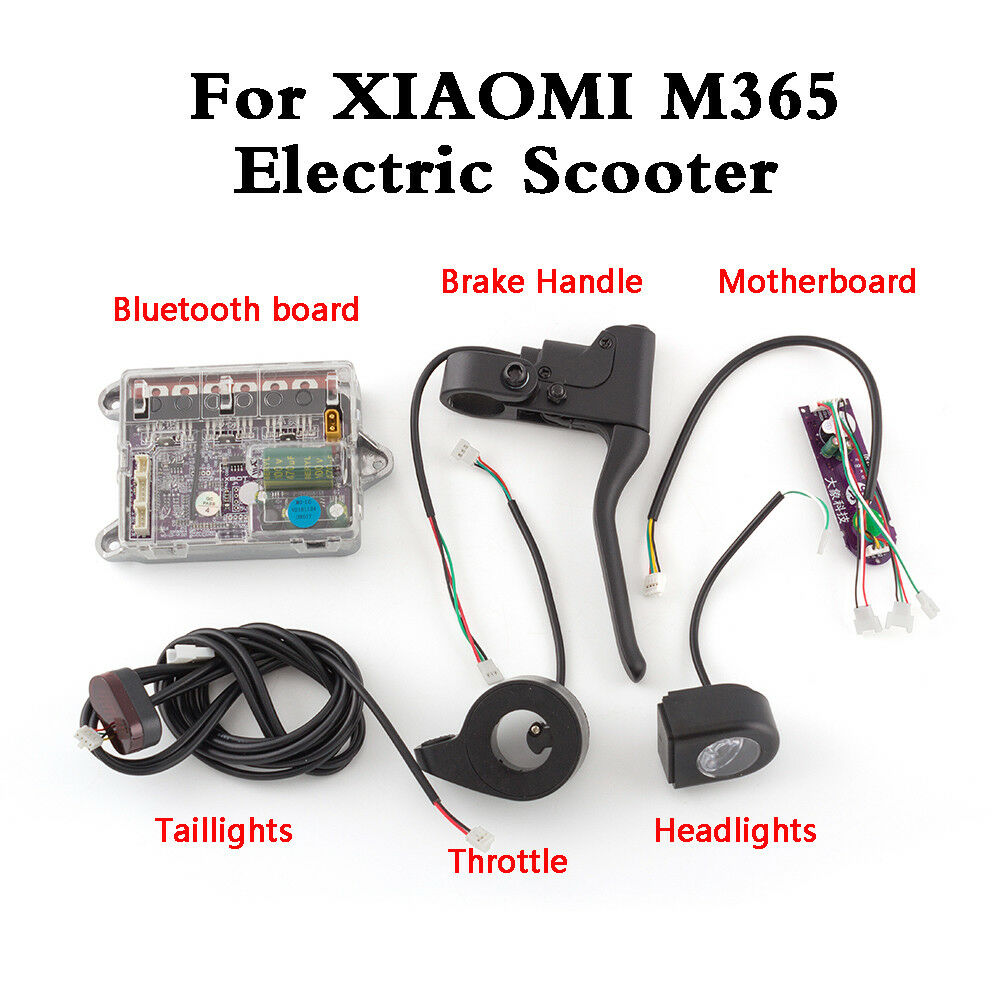 Control Board Dashboard Rear Tail Light For Xiaomi Mijia M365 Electric Scooter C