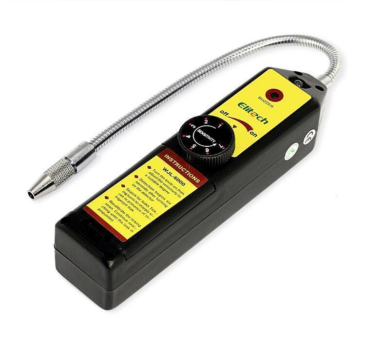 Gas detector gas leak detector Freon gas analyzer CFC HFC Halogen Gas Refrige…