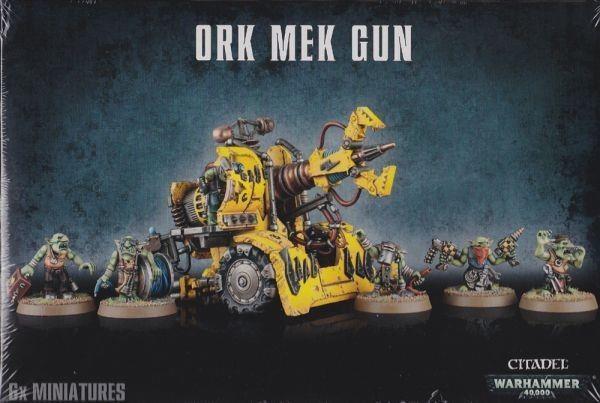 Warhammer 40K Ork Mek Gun GAW 50-26