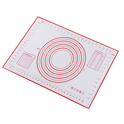 Silicone Bread Baking Sheets Heat Resistance Cookie Pizza Kneading Mats