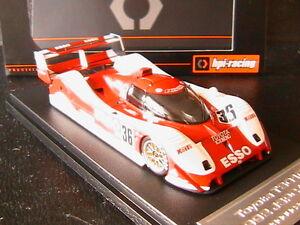 Toyota Ts010 N ° 36 Lire Lammers Jspc 1992 Hpi Racing 8570 1/43 Esso Hpiracing
