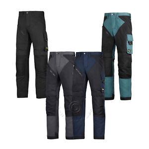 Snickers Ruffwork, Heavy Duty Pantalons De Travail Pantalons Avec Genou Pad Poches – 6303-afficher Le Titre D'origine Garantie 100%