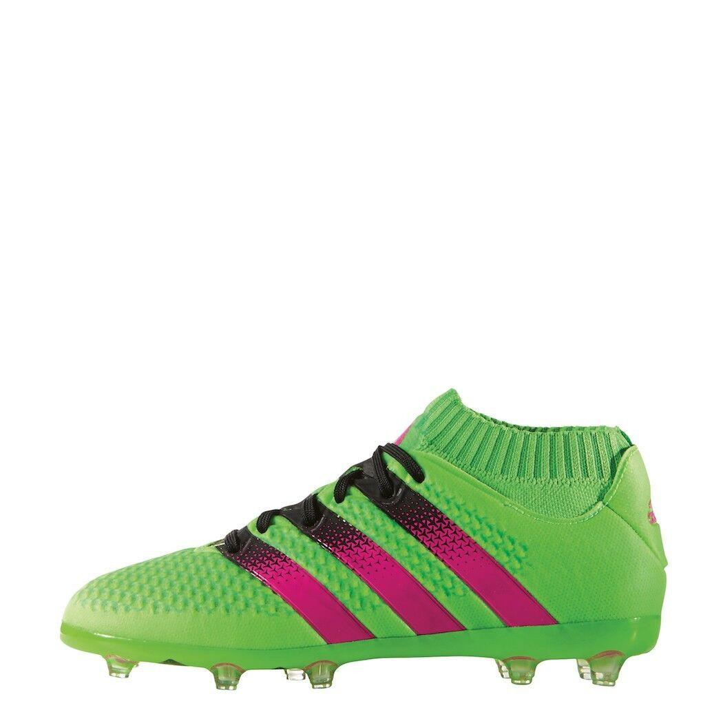 Adidas Ace 16+ primeknit FG ag junior Limited Edition tobillo-calcetín verde aq3490