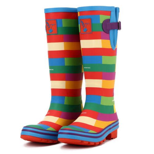 di Scarpe da da alta colorate donna pioggia qualit wx6B8xqOv