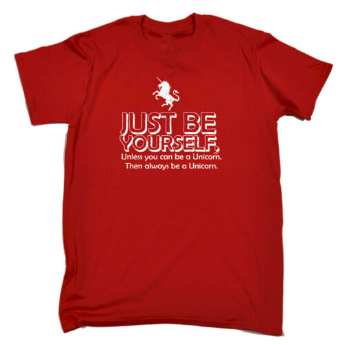 Just Be Yourself Unless You Can Be A U Funny Kids Childrens T-Shirt tee TShirt