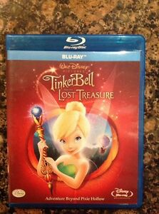 TINKER-BELL-AND-THE-LOST-TREASURE-Blu-Ray-Authentic-US-Release