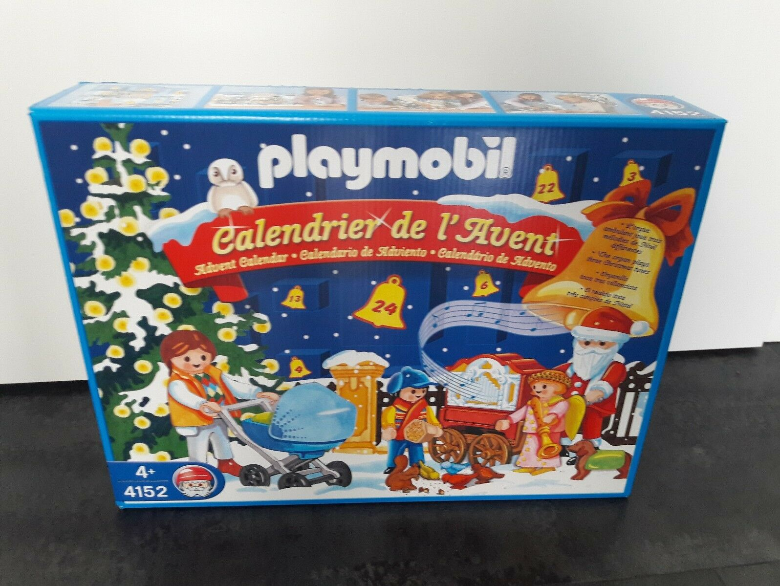 Playmobil 4152 Adventskalender Frankreich RAR NEU OVP SELTEN  | Reichlich Und Pünktliche Lieferung