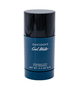 Cool Water by Davidoff 2.4 oz Alcohol Free Deodorant Stick for Men Brand New