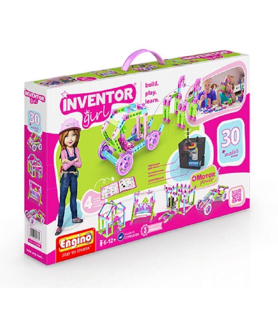 Engino Inventor girl 30 modelli in 1 gioco di costruzioni 04607