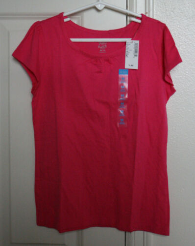 NEW Childrens Place Girls Shirt Size Med 7 8 Classic T Shirt Short Sleeves NWT