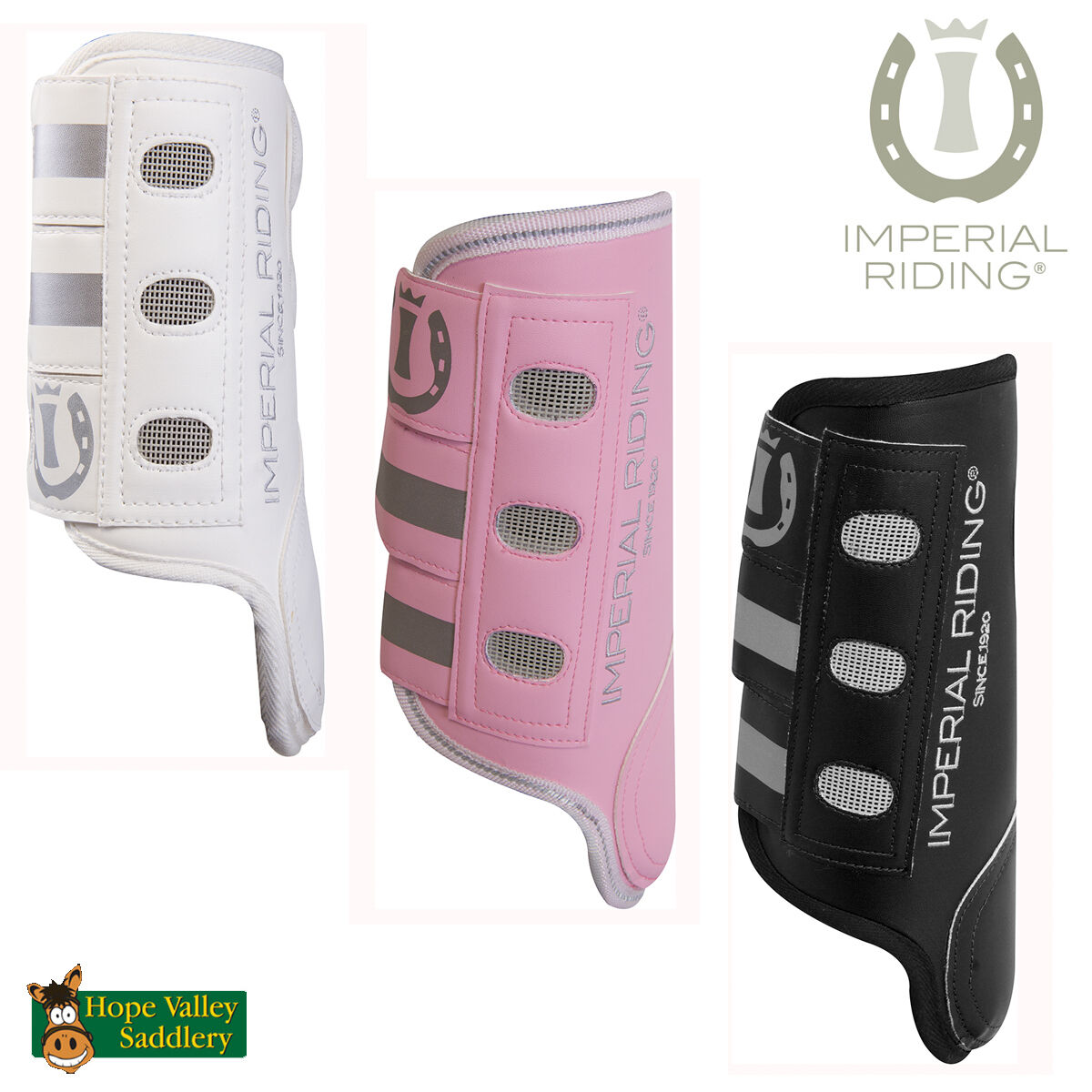 Imperial Riding Cool Action Tendon Boots FREE UK Shipping
