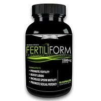 Fertiliform Mens / Male Fertility Supplement   Natural Blend Of Vitamins Pills