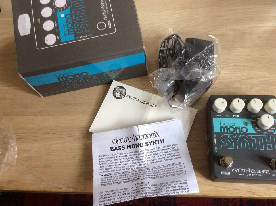 Bass Mono Synth, Electro Harmonix