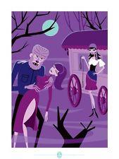 Josh Agle SHAG The Wolfman Universal Monsters Art Print Poster S/# xx/150