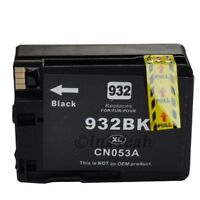 1 Black Chipped Ink Cartridge 932XL 933 for HP Officejet 6100 6600 6700 Printer