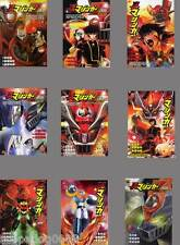 SHIN MAZINGER Z ZERO GO NAGAI JAPANESE ANIME MANGA BOOK SET VOL.1-9 F/SHIPPING