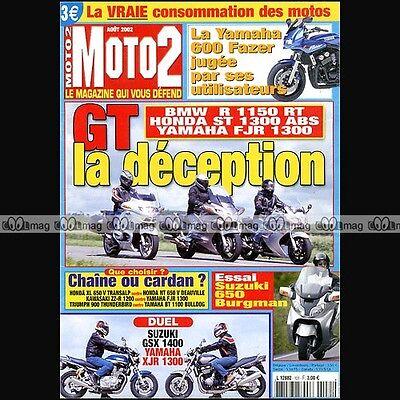 Moto 2 N°151 Bmw R 1150 Rt Honda St 1300 Pan European Yamaha Fjr 1300 Fazer 600 Om Geavanceerde Technologie Te Adopteren