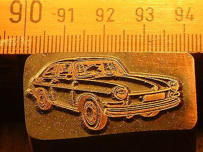 Purposeful Vw Volkswagen 1600 Schöner Oldtimer Stempel / Siegel Aus Metall