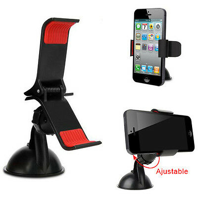 For Mobile Phone GPS  Car Universal Windscreen Suction Mount Holder Cradle Stand
