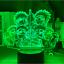 thumbnail 11 - Anime 3d Lamp Naruto Sasuke Kakashi Hinata Obito Itachi Acrylic LED Light Remote