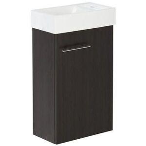 Details zu VBCbad® Badmöbel Waschbecken mit Unterschrank Waschtisch  Badezimmer Wenge KIM